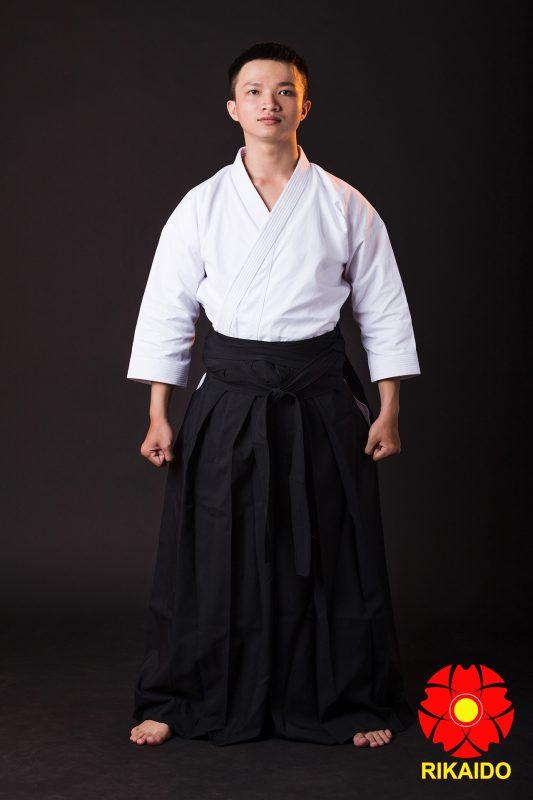 váy hakama aikido