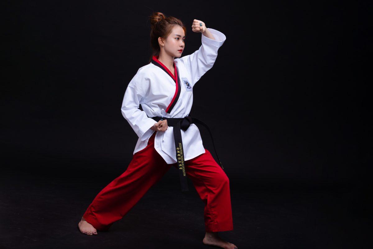 võ phục taekwondo quyền 2