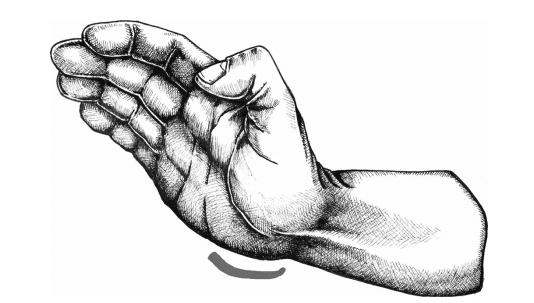 Seiryuto là cạnh gót bàn tay