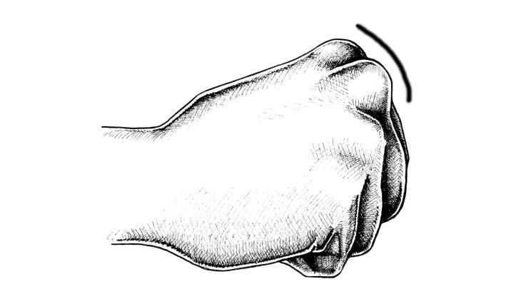 Các Điểm tấn công của bàn tay