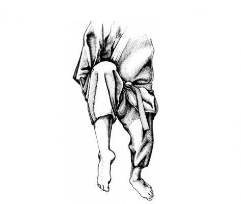 Các điểm tấn công của bàn chân
