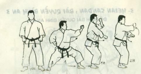bài quyền số 3 karate