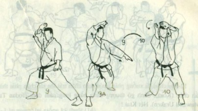 bài quyền số 4 karate