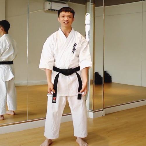 cách thắt đai karate