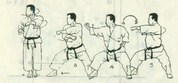 bài quyền số 5 karate